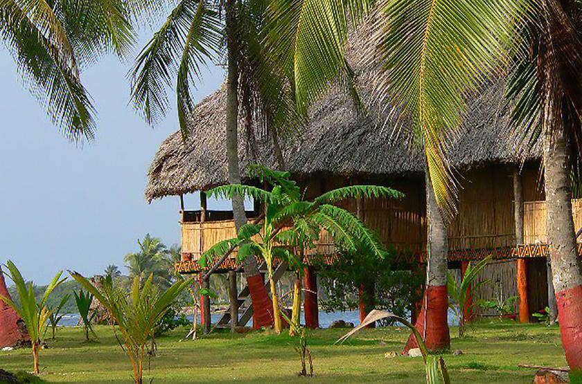 Sapibenega, The Kuna Lodge, San Blas, Panama, jardins