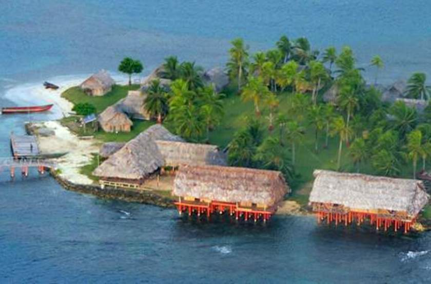 Sapibenega, The Kuna Lodge, San Blas, Panama, emplacement
