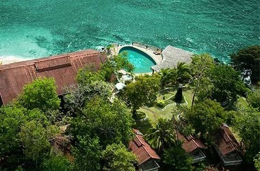 La hacienda del mar san jos  panama vue de haut listing