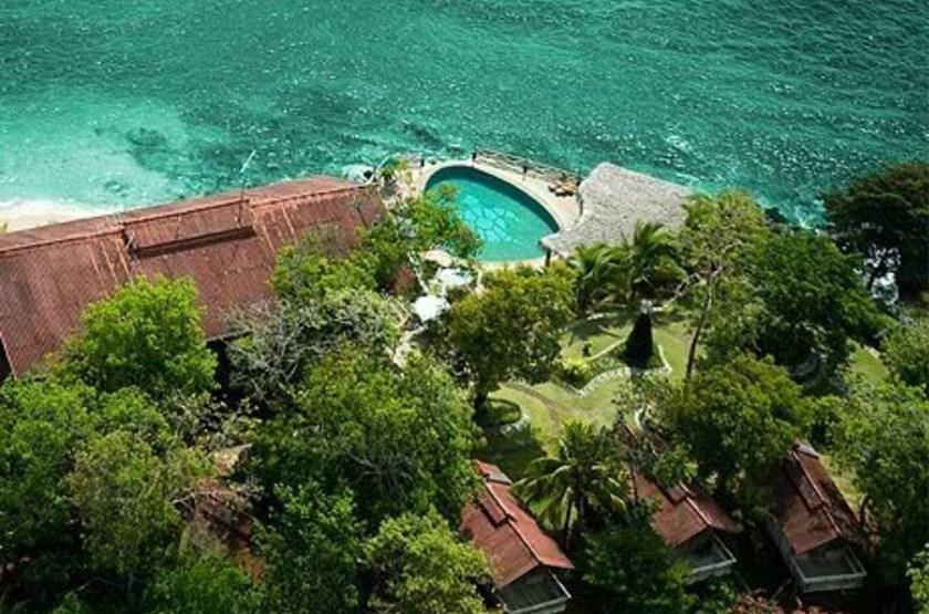 Hacienda del Mar, San José, Panama, vue aérienne