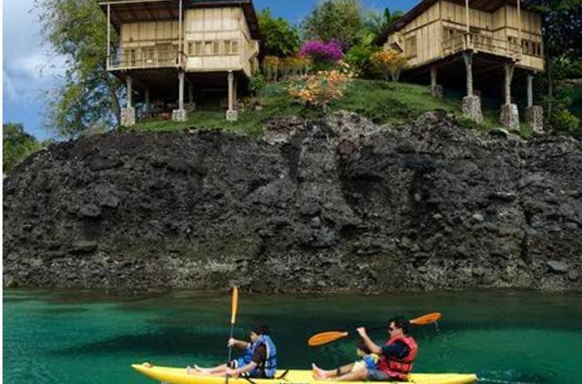 Hacienda del Mar, San José, Panama, cabanas vue mer