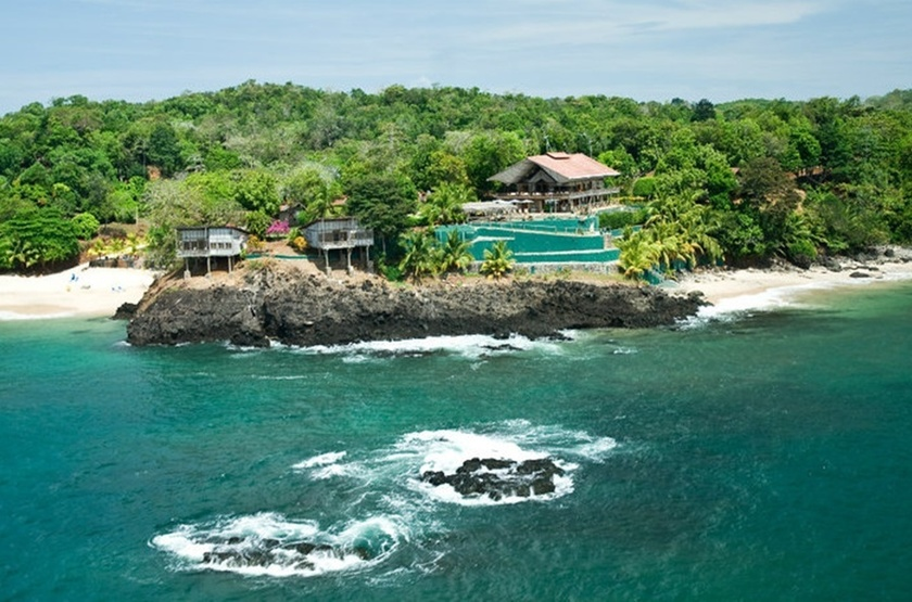 Hacienda del Mar, San José, Panama, emplacement