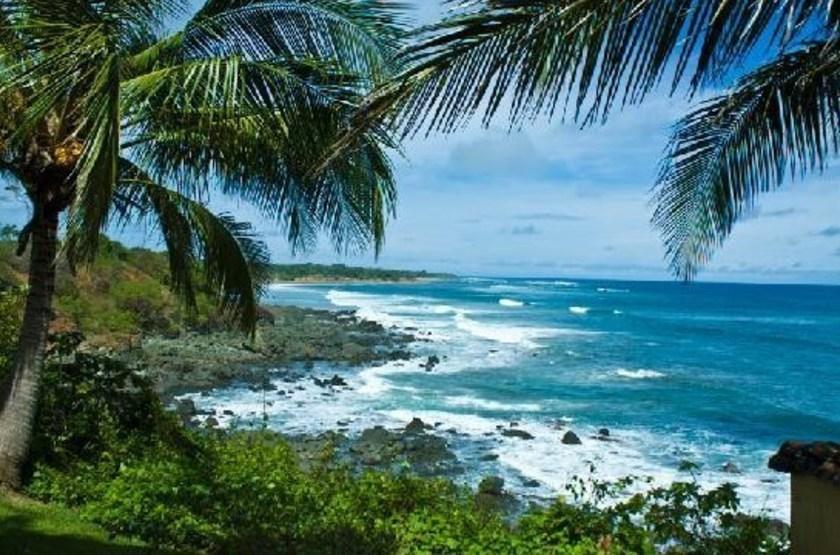 Hotel Punta Franca, Puerto Escondido, Panama, plage