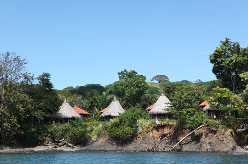 Cala Mia Island Resort, golfe de Chiriquí, Panama, bungalows