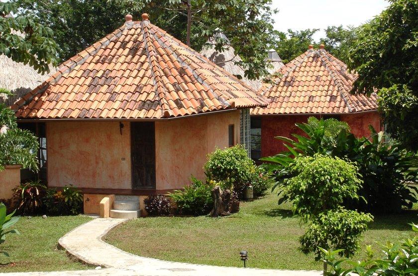 Cala Mia Island Resort, golfe de Chiriquí, Panama, cabanas