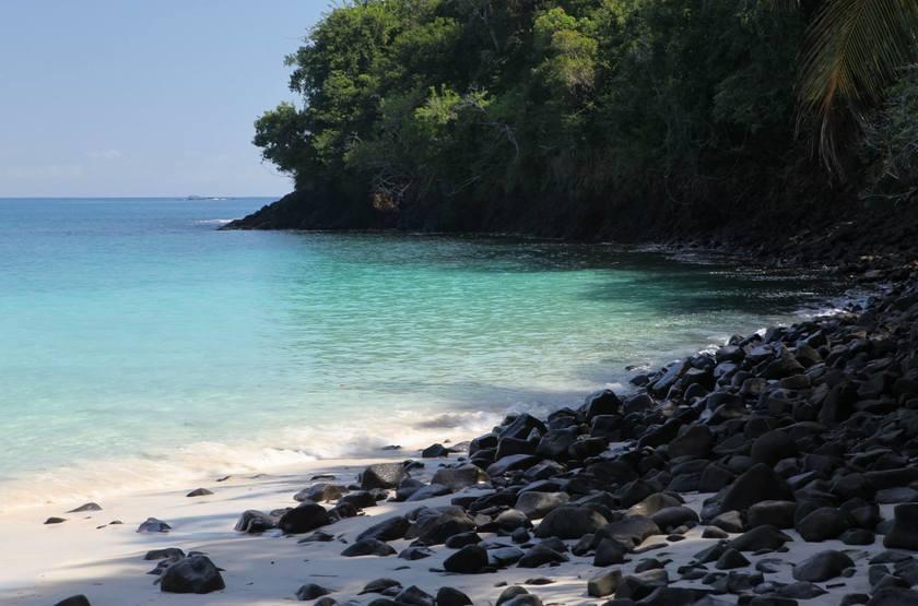 Cala Mia Island Resort, golfe de Chiriquí, Panama, plage