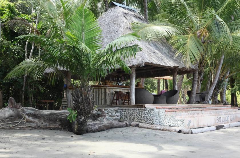 Cala Mia Island Resort, golfe de Chiriquí, Panama, bar