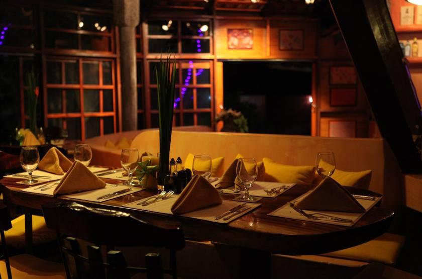 Cala Mia Island Resort, golfe de Chiriquí, Panama, restaurant