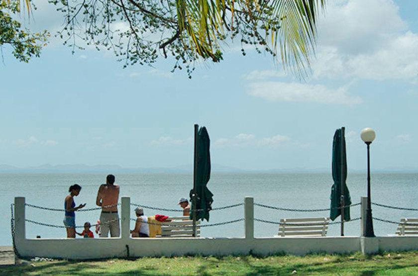 Charco verde ometepe nicaragua plage priv e slideshow
