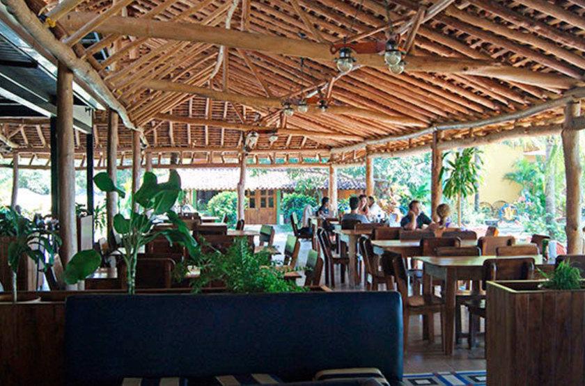 Charco verde ometepe nicaragua restaurant slideshow