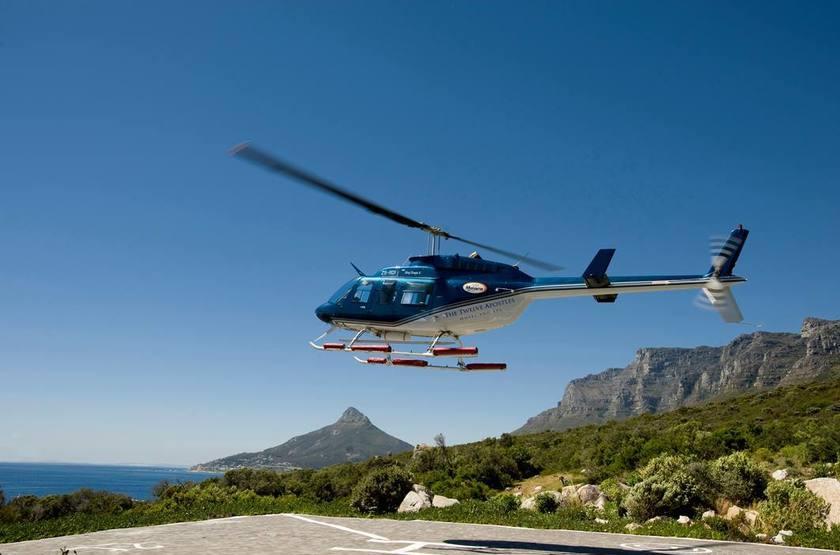 The Twelve Apostles, Cape Town, Afrique du Sud, transfert en hélicoptère