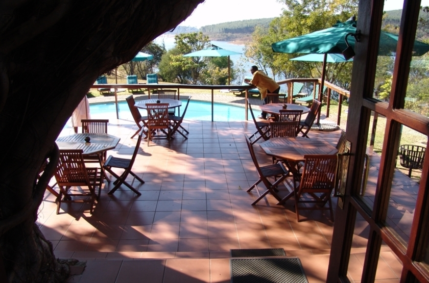 Hulala Lakeside Lodge, lac Da Gama, Afrique du Sud, lounge
