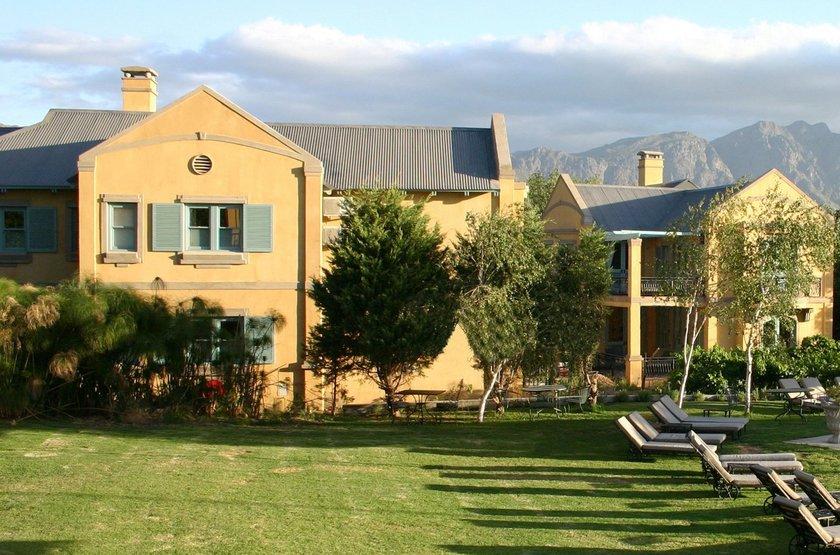 Franschhoek Country House, Afrique du Sud, jardins
