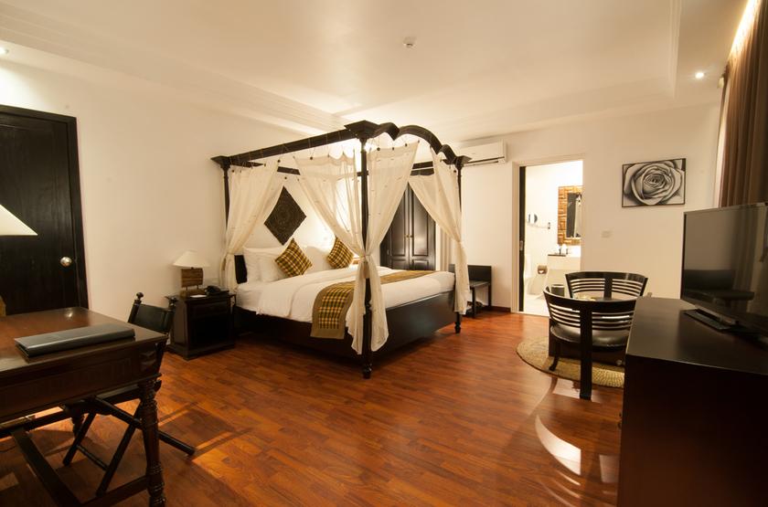 La Rose Suites - Phnom Penh, Cambodge, chambre