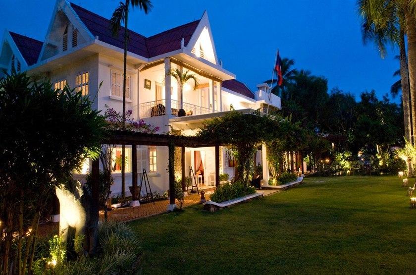 Maison Souvannaphoum, Luang Prabang, extérieur