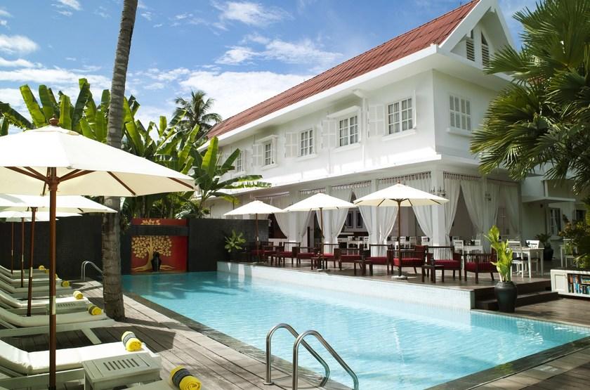 Maison Souvannaphoum, Luang Prabang, Laos, piscine