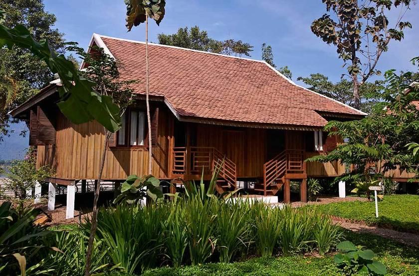 La Folie Lodge, Pakse, Laos, extérieur