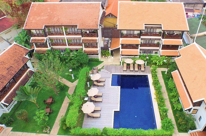 Ansara Hotel, Vientiane, Laos, piscine