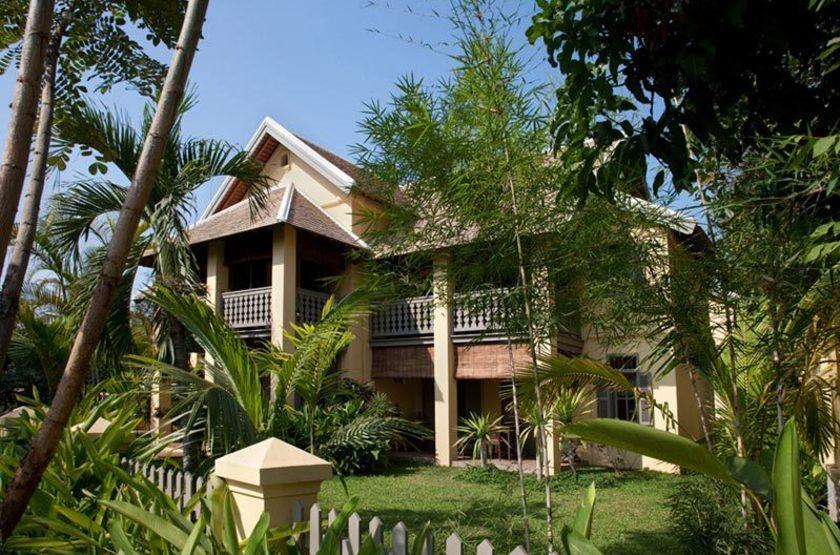 Satri House, Luang Prabang, Laos, extérieur