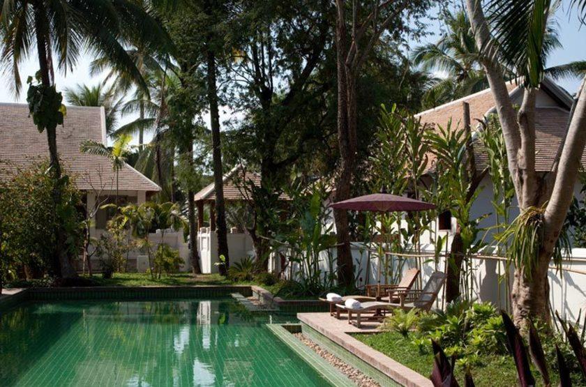 Satri House, Luang Prabang, Laos, piscine