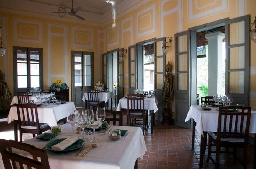 Satri House, Luang Prabang, Laos, restaurant