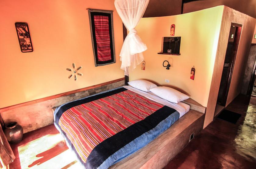 Mandala Ou Resort, Nong Khiaw, Laos, chambre