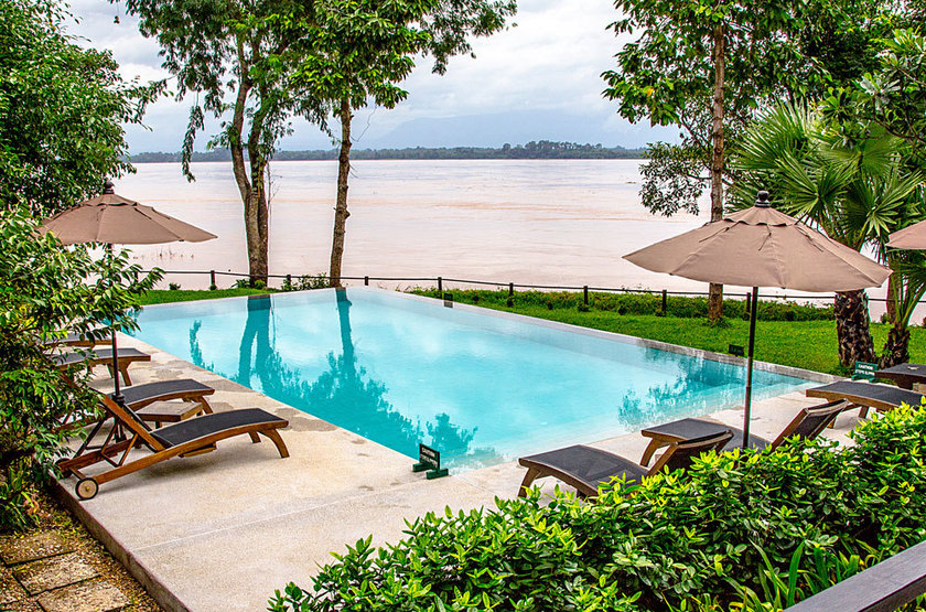 The River Resort, Champassak, piscine
