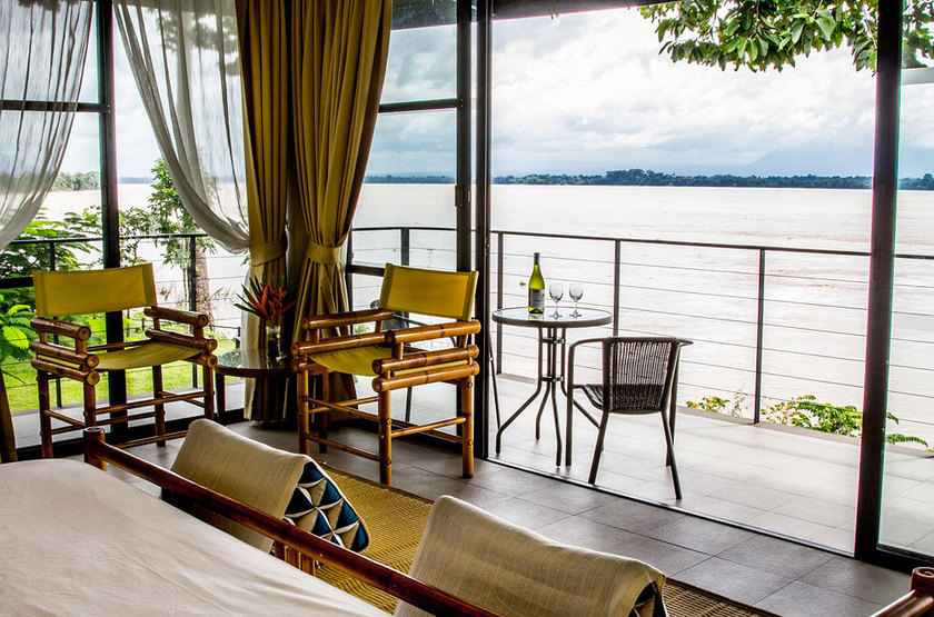 The River Resort, Champassak, chambre river side