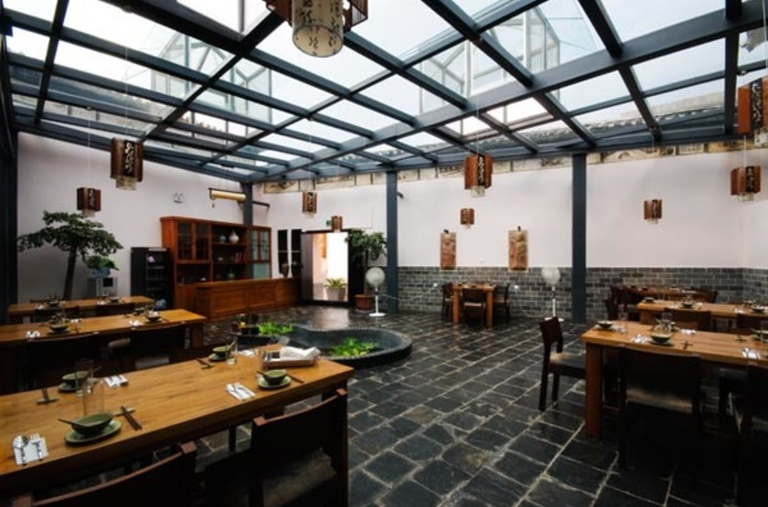 The Linden Centre, Xizhou, Yunnan, restaurant