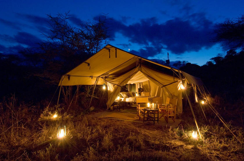 Olakira Mobile Camp, Serengeti, Tanzanie, tente