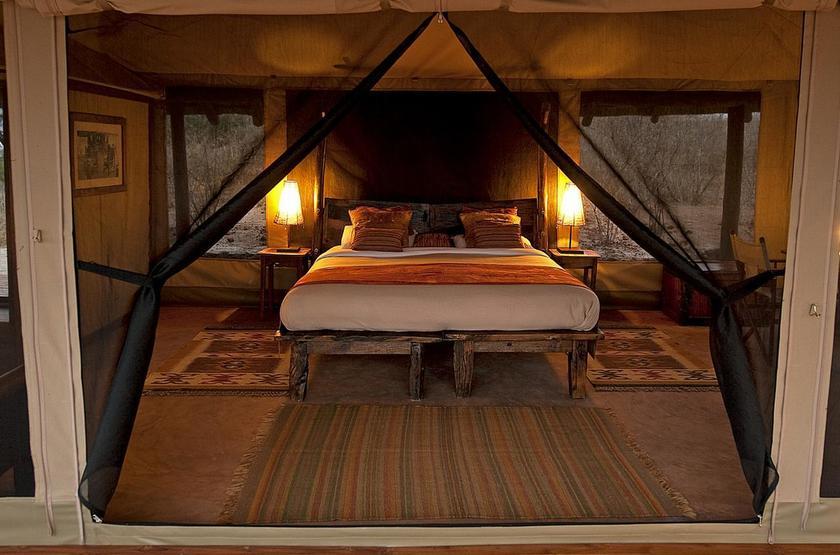 Oliver's Camp, Tarangire, Tanzanie, chambre