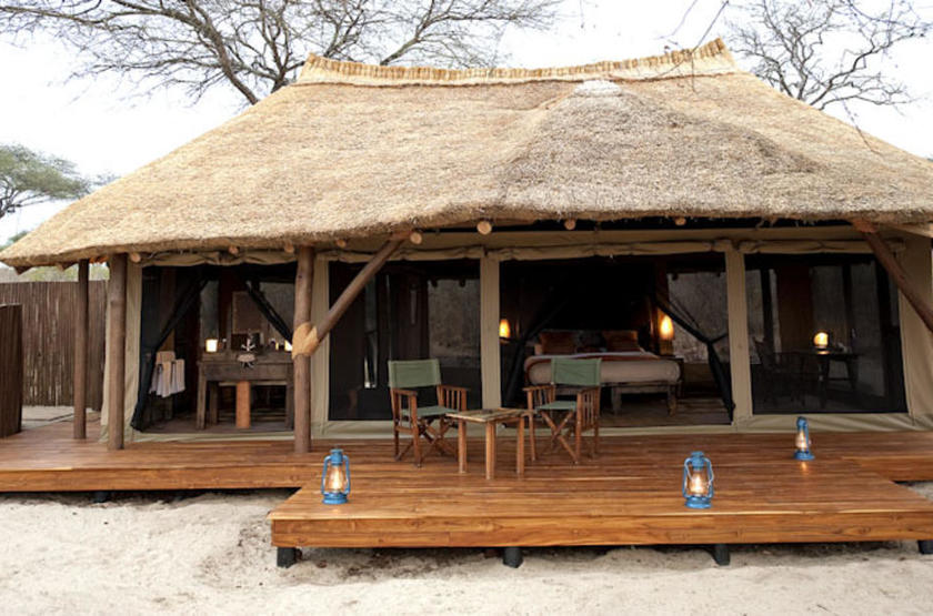 Oliver's Camp, Tarangire, Tanzanie, bungalow