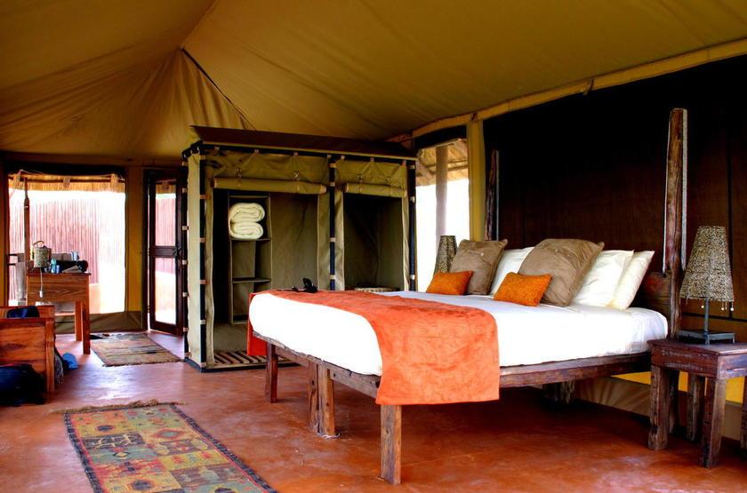 Oliver's Camp, Tarangire, Tanzanie, intérieur