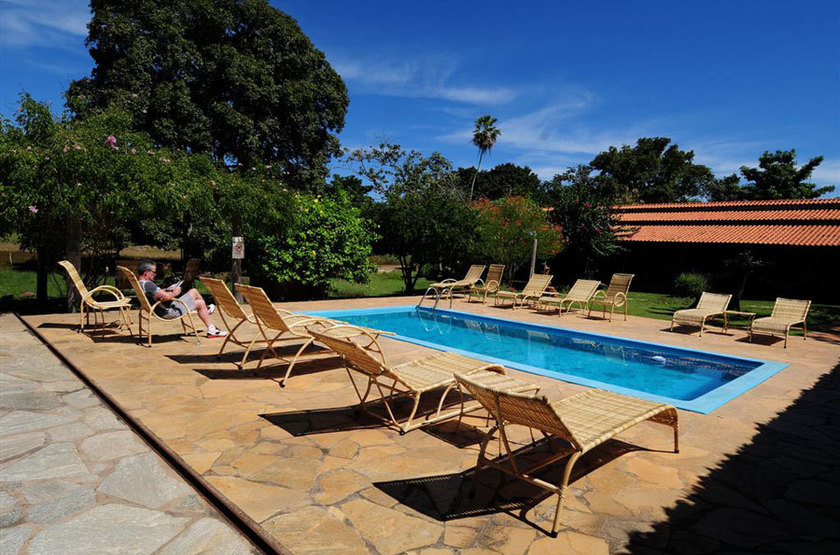 Araras Eco Lodge, Pantanal nord, Brésil, piscine