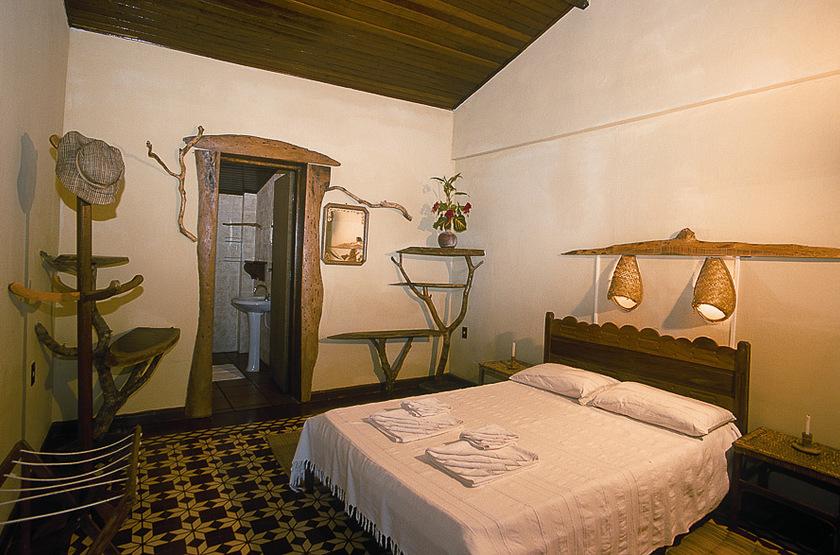 Araras Eco Lodge, Pantanal nord, Brésil, chambre