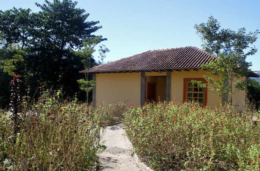 Guapi Assu Bird Lodge, Mata Atlantica, Brésil, bungalow