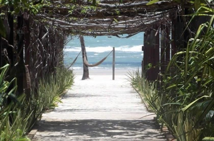 Pousada Rede Beach, Guajiru, Brésil, plage