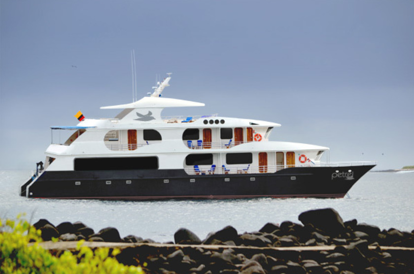 Petrel Luxury Catamaran, Galapagos, Equateur, le bateau