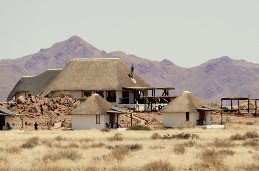 The Desert Homestead et Horse Trails, Sossusvlei, Namibie, chalets
