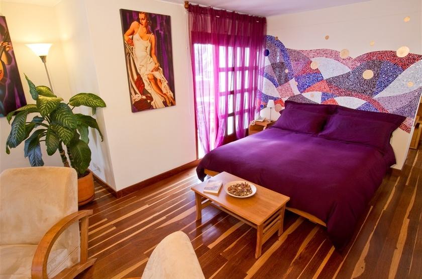 Casa Deco, Bogota, Colombie, chambre