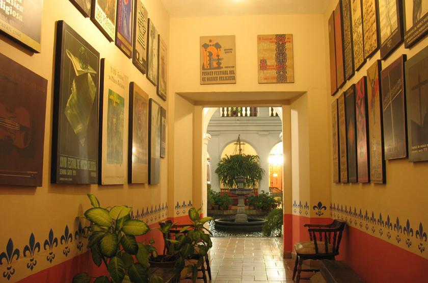 Hotel La Plazuela Popayan, Colombie, intérieur