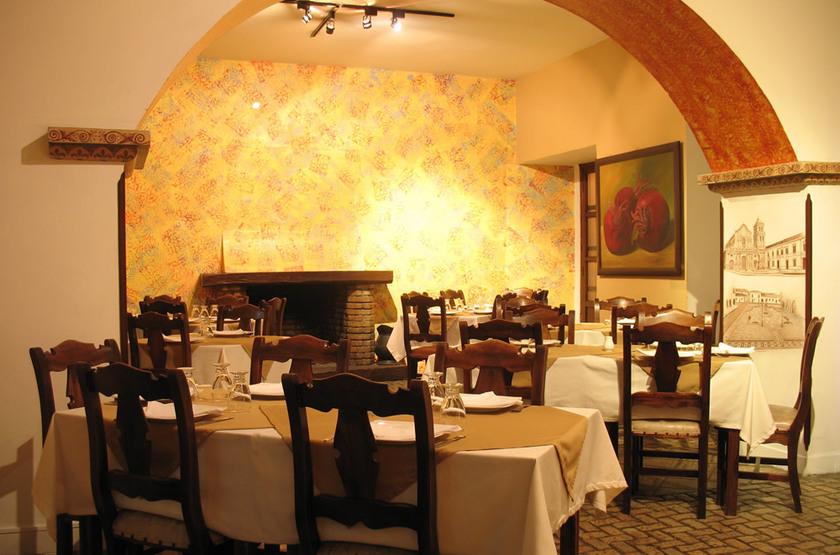 Hotel La Plazuela Popayan, Colombie, restaurant