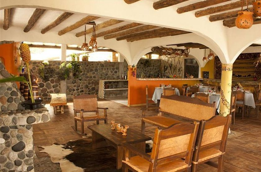 Akawanka Lodge, San Agustin, Colombie, restaurant
