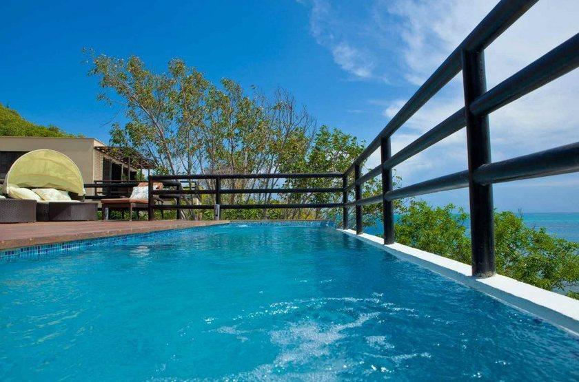Deep Blue Hôtel, Ile de Providencia, Colombie, piscine