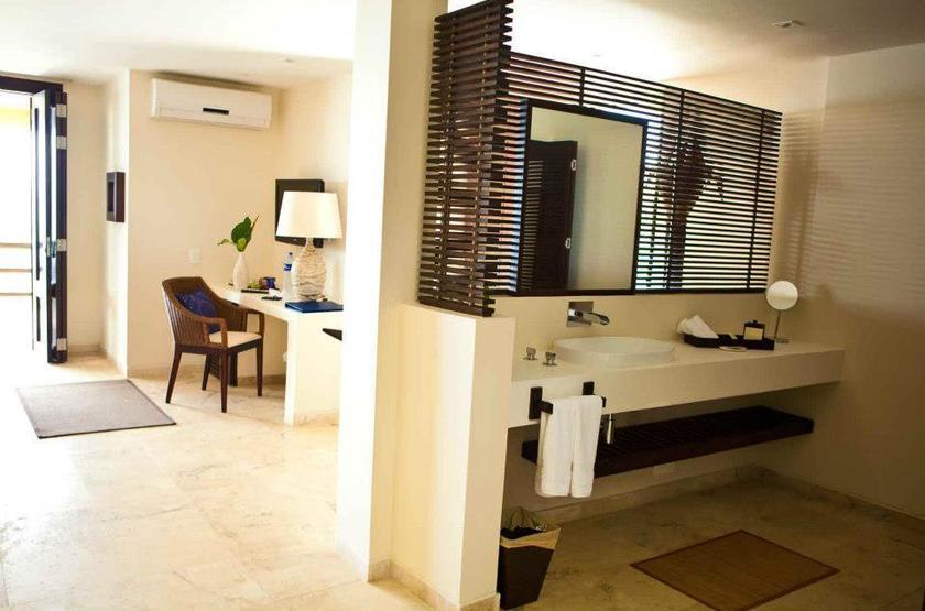 Deep Blue Hôtel, Ile de Providencia, Colombie, salle de bains