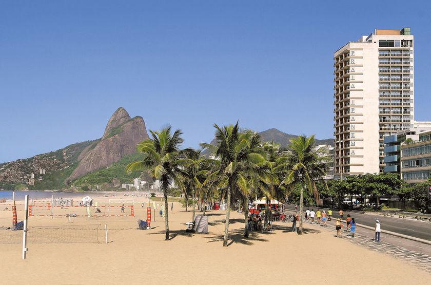 Praia Ipanema Hotel, Rio, Brésil, extérieur