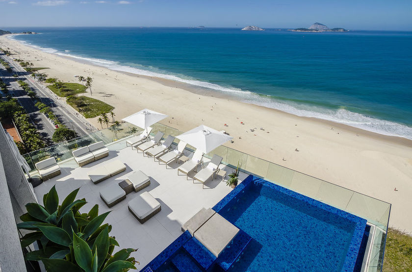 Praia Ipanema Hotel, Rio, Brésil, plage