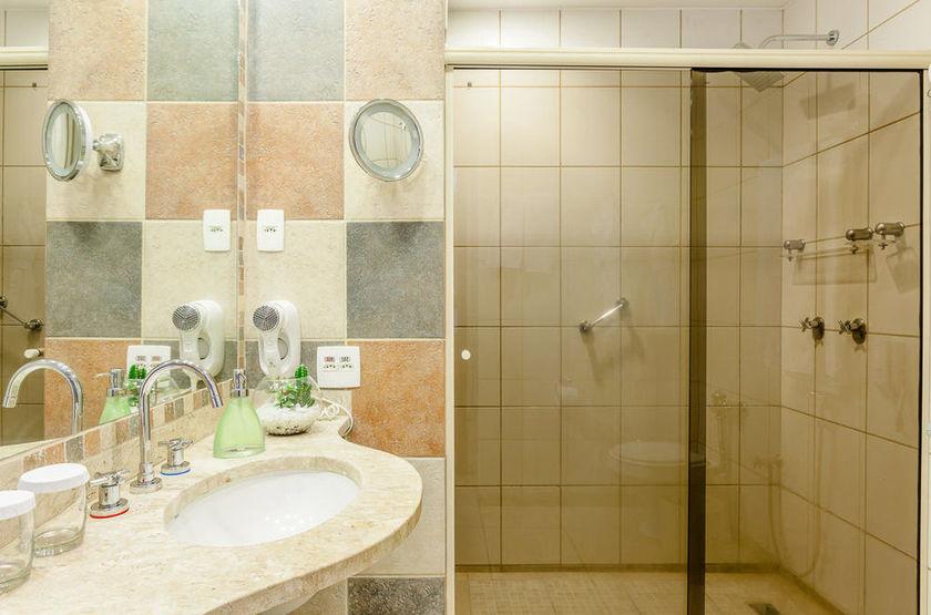 Praia Ipanema Hotel, Rio, Brésil, salle de bains