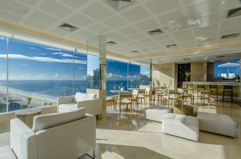 Praia Ipanema Hotel, Rio, Brésil, salon