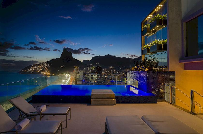Praia Ipanema Hotel, Rio, Brésil